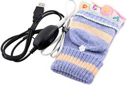 Перчатки USB - согревайте руки не отходя от компьютера