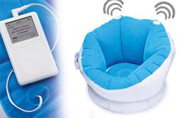 Inflatable Neutron - отдыхайте и слушайте музыку с комфортом