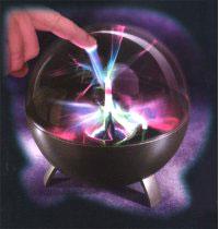 Переносной плазменный шар