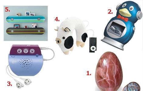 5 самых необычных детских MP3 плееров и аксессуаров к ним