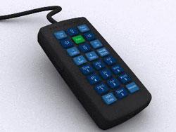 Компьютерная клавиатура для фанатов SMS