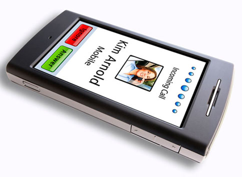 Nuvifone - мобильник и GPS навигатор