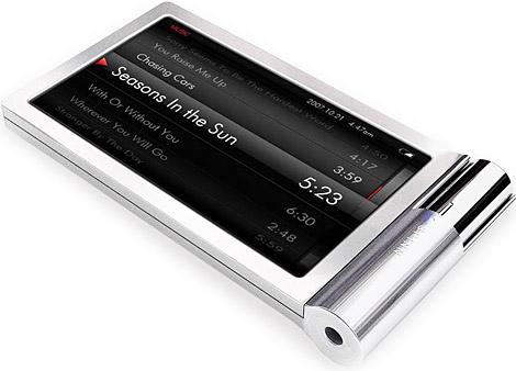 Новый портативный MP4-плеер iRiver SPINN