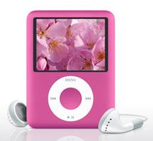 Apple выпускает розовый iPod ко Дню Святого Валентина