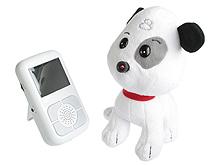 Скрытая камера в носу у маленькой игрушки-сувенира