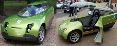 Автомобиль будущего: на солнечных батареях