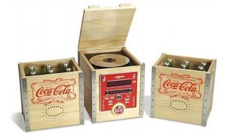 CD-проигрыватель с множеством дополнительных функций Coke