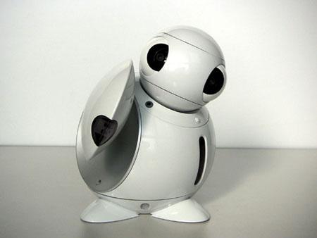 Милый и умный робот ApriPoko от Toshiba