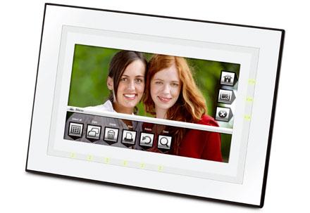 Фоторамка EasyShare - прокручивайте фото пальцами
