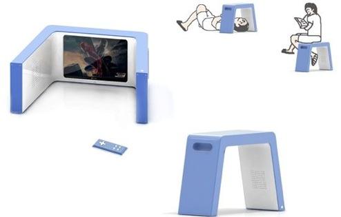 NapTV - телевизор и скамейка в одном
