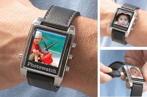 Фоточасы: фоторамка и наручные часы в одном