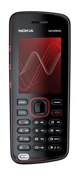 Nokia представила новый музыкальный мобильный телефон 5220