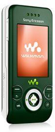 Sony Ericsson W580i в цветовом варианте Jungle Green