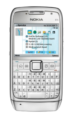 Nokia анонсировала E71 и Nokia E66