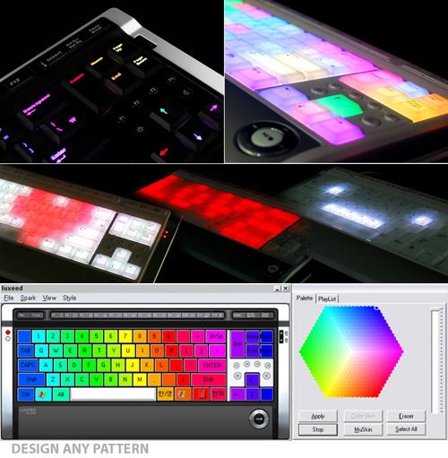 Новая LED-клавиатура - конкурент Optimus Maximus