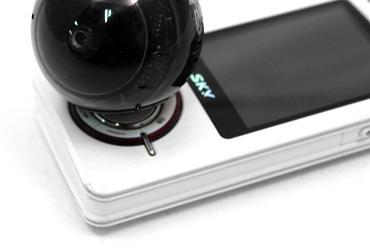 CamBall - удивительно маленькая видеокамера в виде шарика