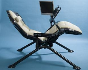 Zero-Gee - компьютерное кресло для самых ленивых