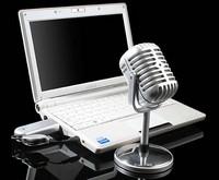 Беспроводной ретромикрофон