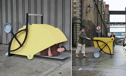 Бездомные будут мечтать о Shelter Cart