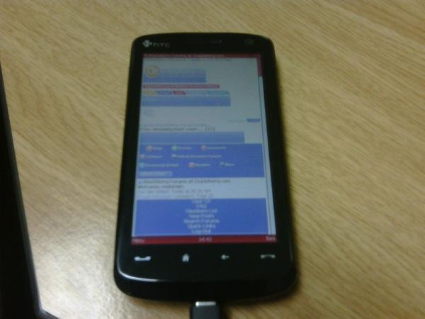 HTC Touch HD – экран WVGA, 5-мегапиксельная камера и многое другое