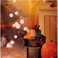 Призрачные пузыри на Хэллоуин