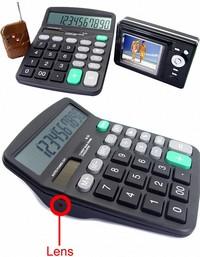 Калькулятор для шпионов Calculator Spycam
