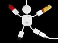 Человекоподобный USB-хаб