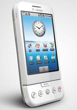 T-mobile G1 появился в США