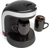 Кофеварка на рабочем столе