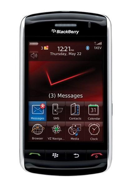 Blackberry Storm появится у операторов Vodafone и Verizon