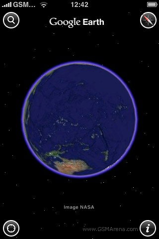Релиз Google Earth 3D для iPhone