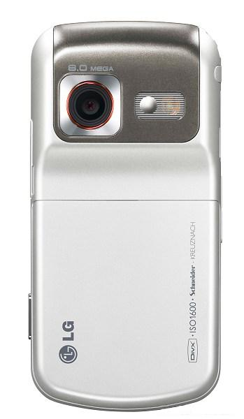 LG KC780 – еще один телефон с 8-мегапиксельной камерой