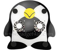 Пингвин охладит перегревающийся ноутбук