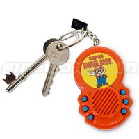 Super Mario Brothers Sound FX Keychain
