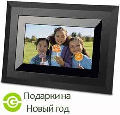 Цифровая фоторамка с видео и MP3. Подарки на Новый год.