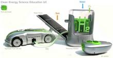 Экологичная машинка на радиоуправлении