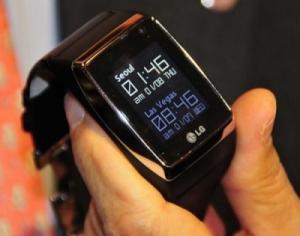 Часы-телефон LG порадуют общественность на CES 2009