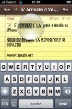 Apple iPhone получает новое приложения для копипаста текста