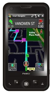 Pharos Traveler 137 – телефон с поддержкой GPS и просто огромным дисплеем