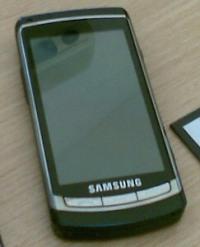 Камера Samsung i8910 записывает HD видео