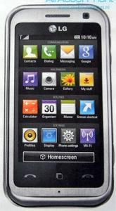 LG KM900 Arena – подарок для любителей сенсорных экранов