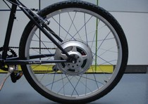 GreenWheel - электродвигатель для велосипеда
