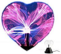 Плазменное сердце на День Валентина