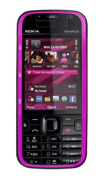 Nokia представила 5730, 5330 XpressMusic и 5030