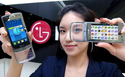 LG GD900 Crystal – новый пользовательский интерфейс S-Class