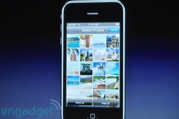 Apple представил  iPhone OS 3.0 – более 100 новых функций