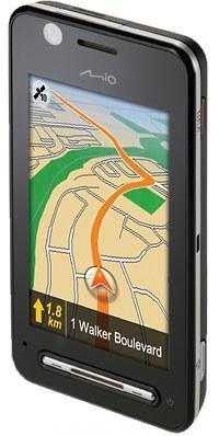 Mio презентовал новый GPS телефон – K70