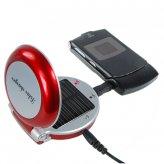 Гламурное зарядное устройство на солнечных батареях для мобильников и MP3/MP4-плееров