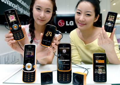 Музыкальные новинки: LG GM310, GM210 и GM205