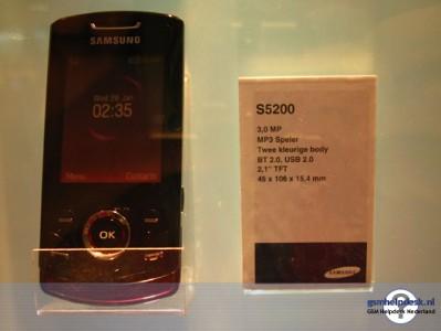 Первое фото Samsung S5200